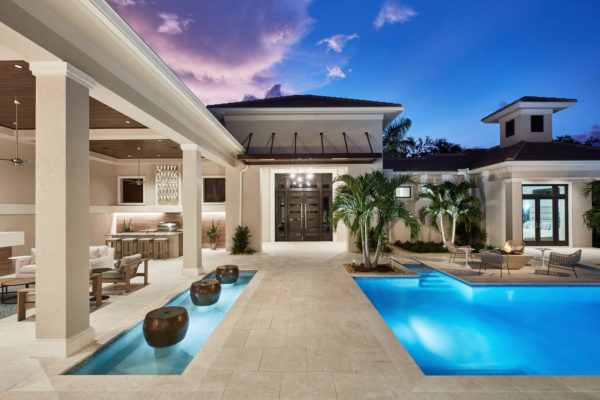 28981 Somers Dr Naples FL-large-019-019-Courtyard dusk-1500x1000-72dpi
