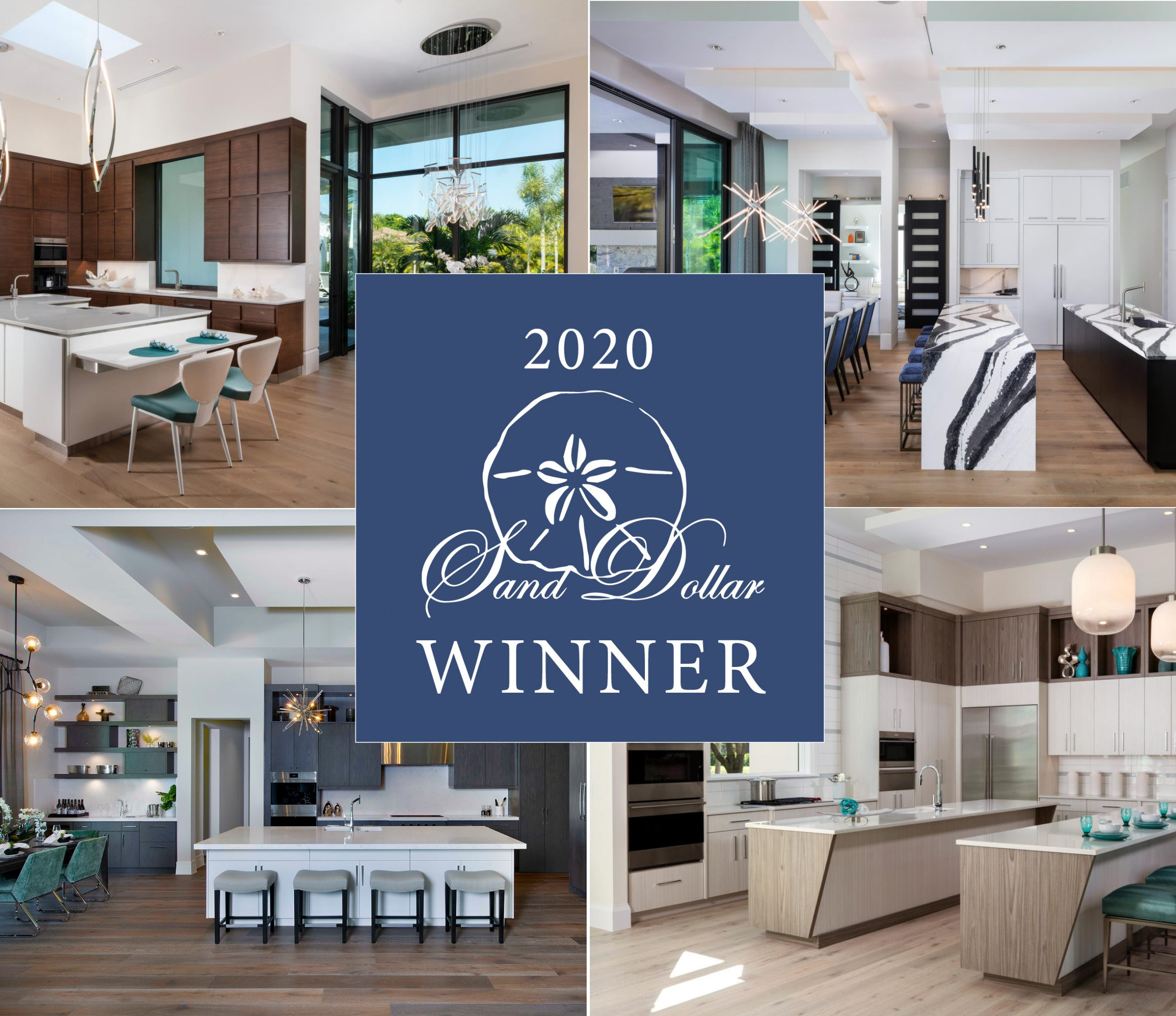 2020 sand dollar award winner McGarvey homes best kitchen design