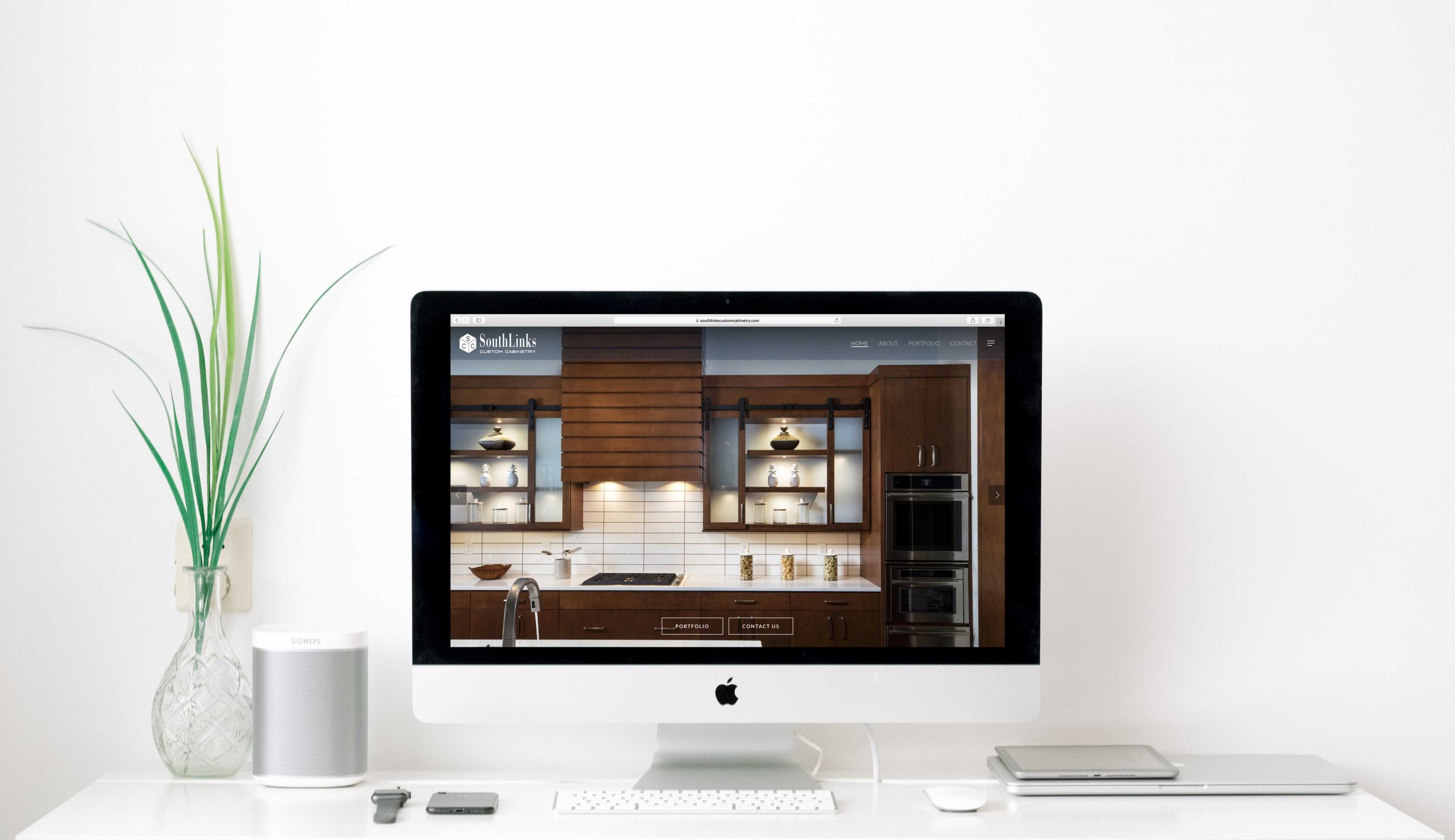 Website Launch for SouthLinks Custom Cabintery